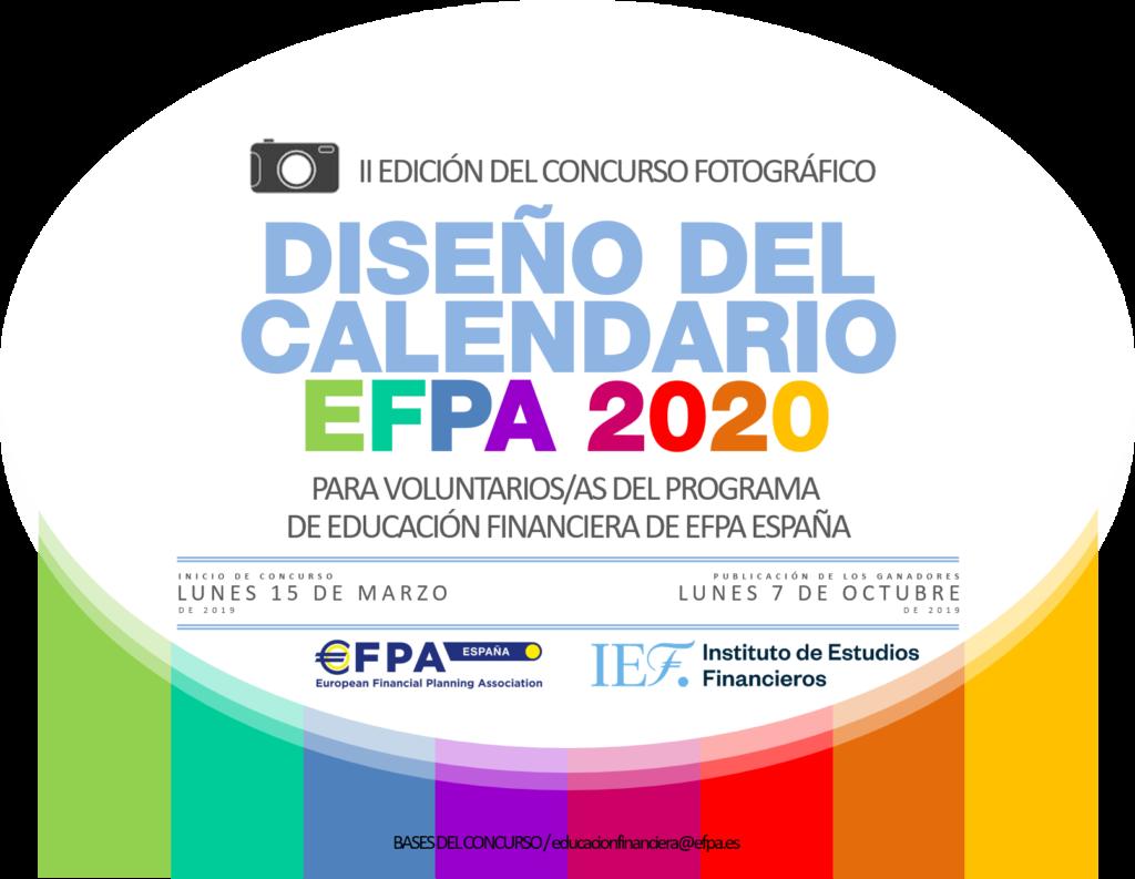 Calendario Financiero 2019.V Edicion Concurso Fotografico Diseno Calendario Efpa 2020